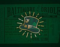 UA x MLB St. Patrick's Day Graphics
