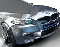 BMW M5(2012) Modelling & CGI