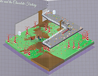 isometric on grid