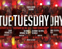 Two Dollars Tuesday - Club A5 Template