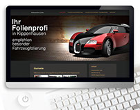 Website Automotive design