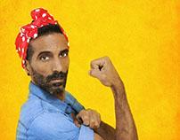 Yossi Zabari - Sensual Queer Standup Comedy - Branding