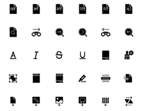 Free iOS Text icons