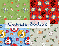 12 animals - Chinese Zodiac