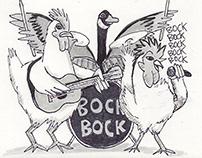 Chicken Jam (Goose on Drums)