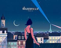 Waterman Paris - Emblème