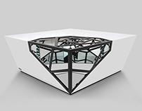 BLACK DIAMOND TABLE