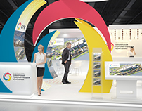 Exhibition stand SGK, for Interform Design Spb