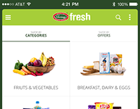 Heritage Grocery Mobile App