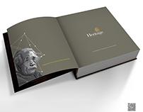 Heritage Laminates Catalog Design