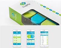 Pill box | Branding, packaging, Website, UX, UI, App