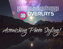 30+ Cool Photoshop Overlays to Make Astonishing Photos