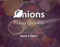 A Restaurant Website, UI   UX Design