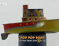Tug Boat - Pop Pop Boat - Barquinho a vapor