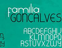 Tipografia | Família Gonçalves