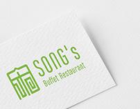 SONG'S Buffet restaurant CI and menus