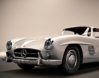 Mercedes Benz 300SL 1955
