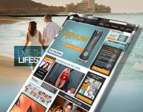Nerium Supplier Home page design