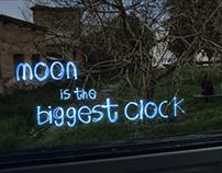 Moon is the biggest clock