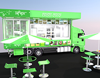 FOOD TRUCK WITH LIBRARY