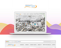 Indokom Seafood Web Design