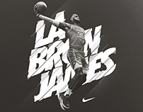 Nike | LaBron James | Personal Project