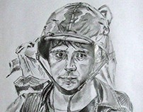 Pencil artwork.