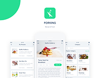 ForKING - Share Recipes App