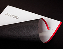 Le Capitole - Hotel & Restaurant Branding