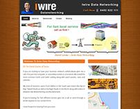 Iwire Data Networking || Wordpress website