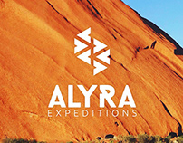 Alyra Expeditions - Branding, Graphic design & website