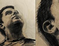 Tablas, retratos con diferentes puntos de vista
