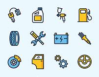 Car Service Icons – Part 02