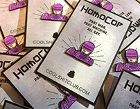 HomoCop pin by Cool Shit Club
