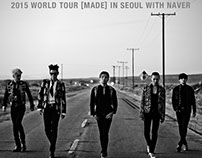 YG - BIGBANG '2015 WORLD TOUR [MADE]'