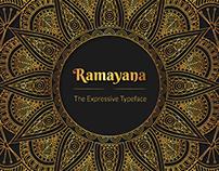 RAMAYANA Expressive Typeface (WIP)