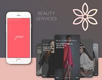 Beauty App UI/UX