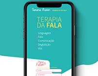 Tamára Ramos - Landing Page