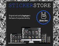 Sticker Store Design