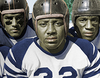 COLORIZATION: 1946 Howard U. Football (2013)