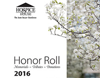 Hospice House: 2016 Honor Roll