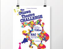 The Ottawa Theatre Challenge 2016 Poster