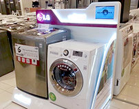 Exhibidores Washer Machines NPI LG 2013