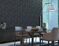 Pollywall Wall Panel - CGI & Retouch