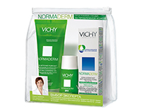 Vichy. Creating gift pack
