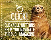 Living Planet Magazine – Online magazine layout