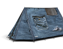 FieldCandy Denim Tents