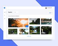 Travel Dashboard Concept UI Design