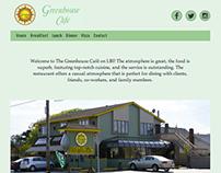 Greenhouse Café Website Redesign
