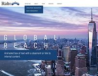 RialtoCapital.com Website Design